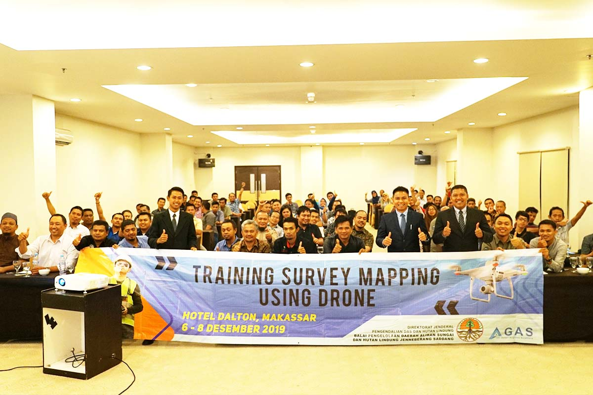 Training Survey Mapping Using Drone BPDASHL JS